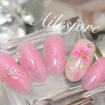【2017年春ネイル】春におすすめ!大人可愛い桜ネイルのデザイン