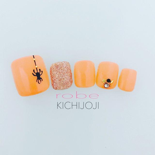 かわいいかぼちゃのハロウィンネイル【2017年版】